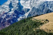 Beautiful Panorama Of Snowcapp...