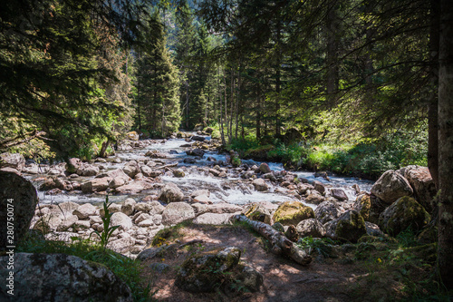 A day in the largest natural reserve in Lombardy, the Val di Mello Canvas Print