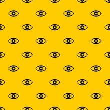 Human Eye Pattern Seamless Vec...