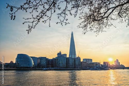 Photo  London Sunset