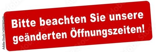 Vászonkép nlsb863 NewLongStampBanner nlsb - german text - Bitte beachten Sie unsere geände