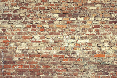 Papiers peints Brick wall Brick wall with white paint