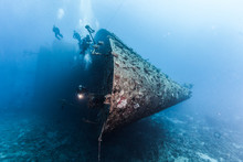 Wreck Of A Ferry, Egypt