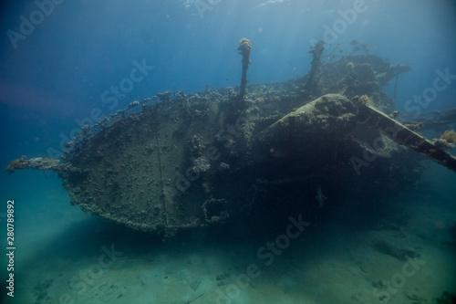 Poster Naufrage Wreck a Cargo Ship, Egypt
