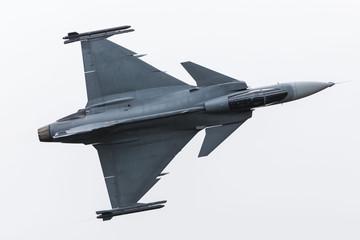 Švedsko ratno zrakoplovstvo JAS-39 Gripen zarobljeno je na Royal International Air Tattoo 2019. u RAF Fairfordu.