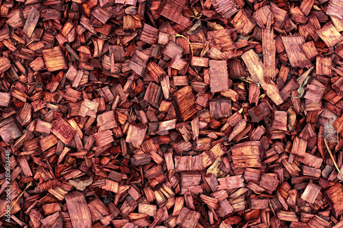 Backgrounds, Textured - Abstract pile wood chips
