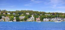 Mackinac Island, Michigan, USA, July 21, 2019:  All Of Mackinac Island Was Listed As A National Historic Landmark In October 1960.