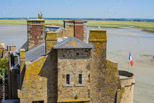 Fotografia The medieval abbey of Mont Saint-Michel
