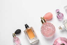Different Luxury Perfume Bottl...