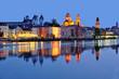 canvas print picture - Dreiflüssestadt Passau