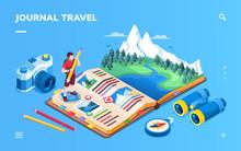 Isometric Screen For Travel Jo...