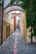 Die Höllgasse In Der Altstadt...