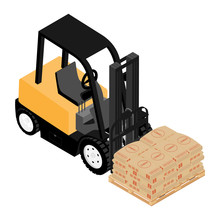 Forklifts, Reliable Heavy Loader, Truck. Heavy Duty Equipment