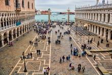 Piazzetta Di San Marco In Venedig, Italien