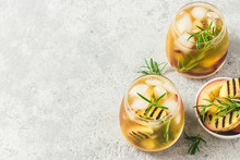 Cold Brew Grilled Nectarines R...