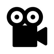 Video Camera Vector Icon. Movi...