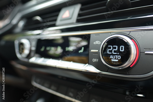 Car Climate Control Air Conditioning - 280897261
