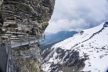 The First Cliff Walk At First Near Grindelwald In Switzerland