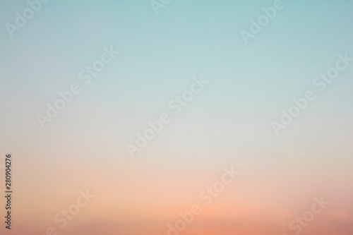 Twilight sky with cloud at sunset Abstract background - 280904276