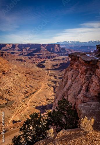 Canyonlands View Vertical Wallpaper Mural
