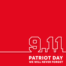 9.11 Patriot Day - We Will Never Forget Background Design For Flyer, Poster, Memorial Card, Brochure Cover, Typography Or Other Printing Products