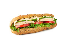 Whole Grain Sandwich With Chic...