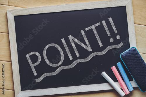 Obraz POINT・ポイント - fototapety do salonu