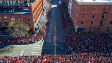 Parade Route In Denver, Colorado