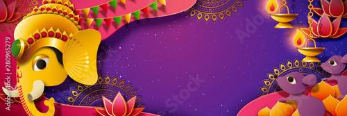 Fototapeta  Ganesh Chaturthi festival