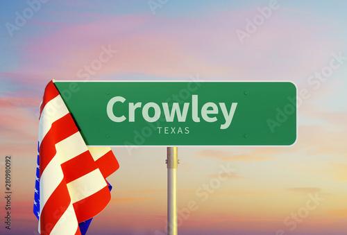 Crowley – Texas Canvas Print