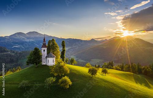 Obraz Skofja Loka, Słowenia - fototapety do salonu