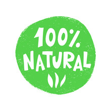 100 Percent Natural Food Green...