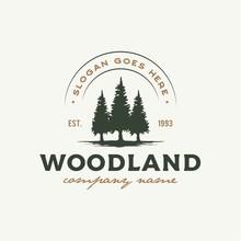 Rustic Retro Vintage Woodland,...