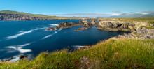 Dingle Peninsular Panorama, County Kerry, Munster, Republic Of Ireland