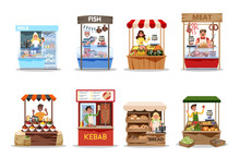 Food Market Set. Product From ...