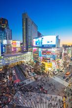 Shibuya Crossing, Tokyo, Japan...