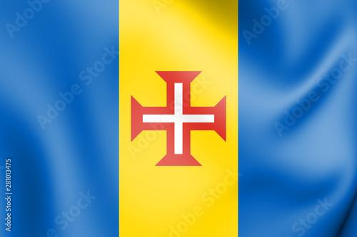 Photo  3D Flag of Madeira