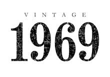 Vintage 1969 (Vintage Black)