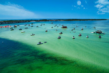Aerial View Of Crab Island, Lo...