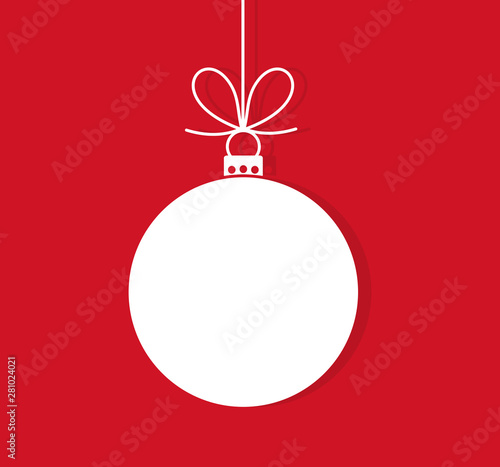 In de dag Bol Christmas ball hanging ornament