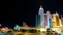 New York Las Vegas Night Scene