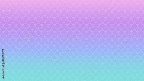 Photographie  Purple turquoise magic gradient vector background