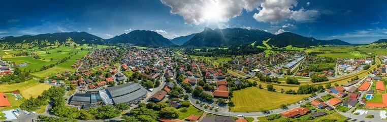 oberammergau aerial 360° view