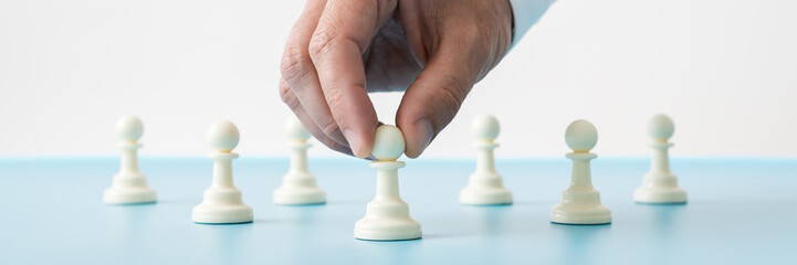 Leadership conceptual image