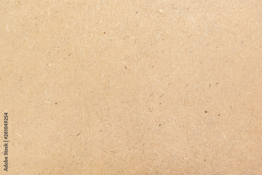 Fototapety, obrazy: Brown paper texture background or cardboard surface from a paper box for packing. and for the designs decoration and nature background concept