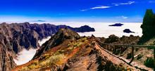 MIrador Roque De Los Muchachos - La Palma, Canary Islands. Popular Tourist Attraction