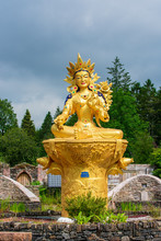 """The Goddess Tara, Known As The """"mother Of Liberation"""", And Represents The Virtues Of Success In Work And Achievements. Also Known As Jetsun Dölma, An Important Figure In Buddhism."""