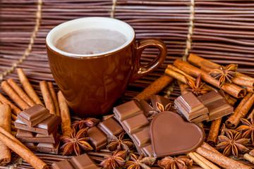 Hot Chocolate With Cinnamon...