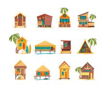 Beach Houses. Funny Buildings ...
