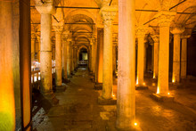 Ancient Basilica Cistern In Is...